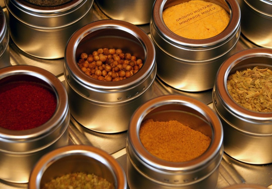 an organized chef knows where to look for seasoning.