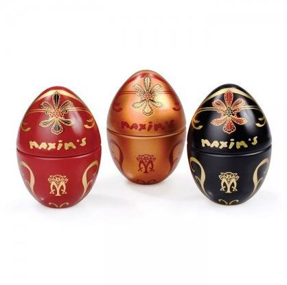 Picture of 3 gourmet chocolate Easter eggs
