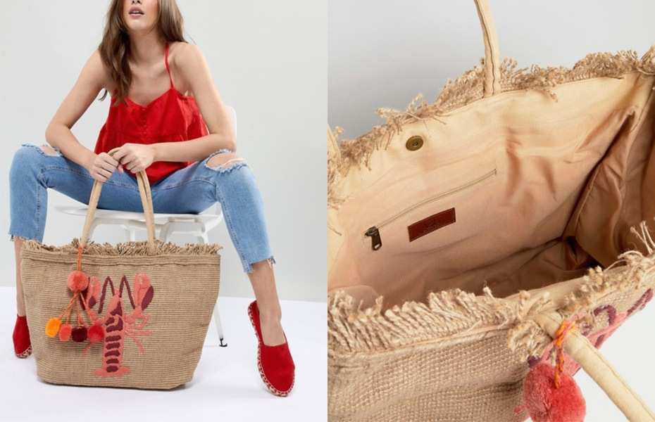 13 Must-Have Beach Bags from ASOS | Cartageous.com/Blog