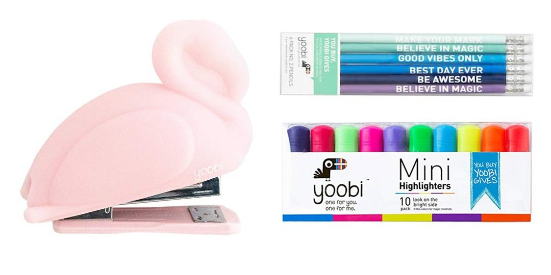 9 Must-Have Colorful Office or School Supplies from Yoobi | Cartageous.com/Blog