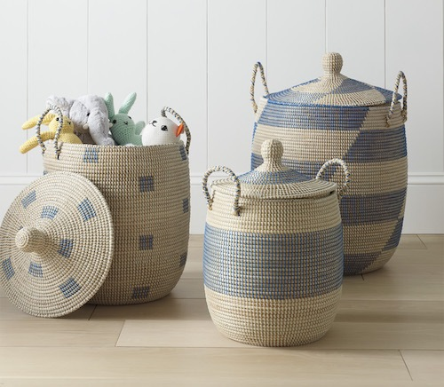 10 Stylish Storage Baskets to Keep You Organized AF | Cartageous.com/Blog