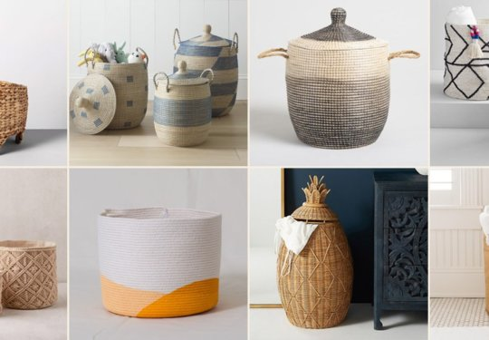 10 Stylish Storage Baskets to Keep You Organized AF | Cartageous.com/Blog