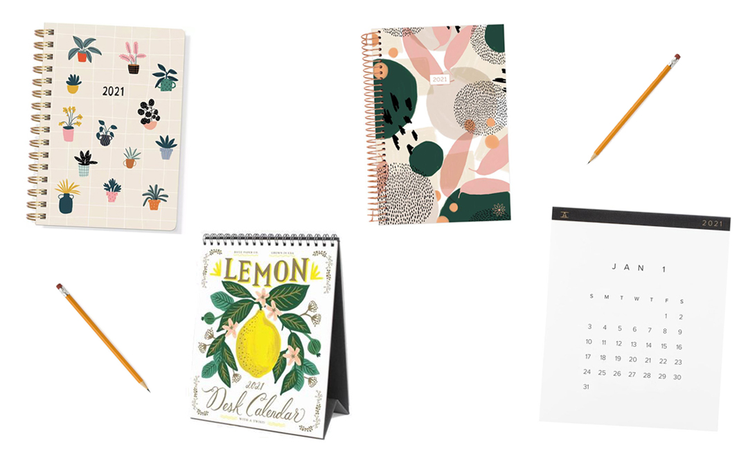 Cute Calendars And Planners We'll Be Using In 2021 | Cartageous.com/Blog