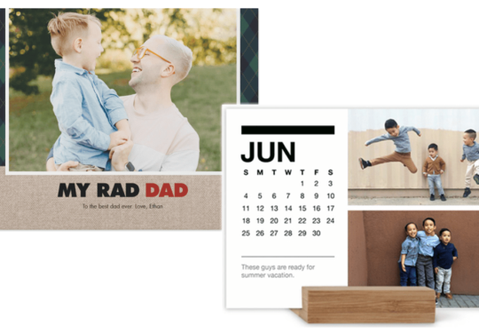 9 Great Father's Day Gifts from Shutterfly | Cartageous.com/Blog