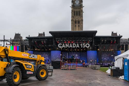 Ottawa 150 setup