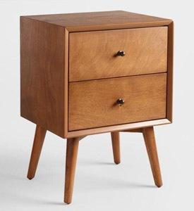 Acorn Wood Brewton Nightstand