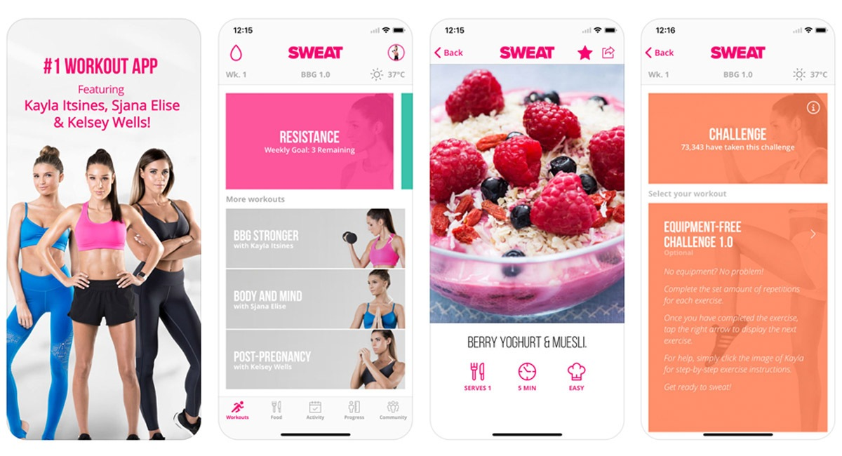 6 Fitness and Weight Loss Apps from http://cartageous.com/blog/