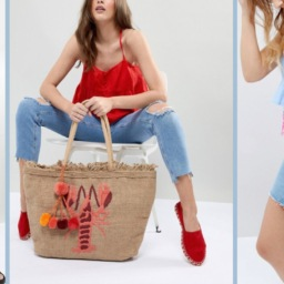 13 Cute Beach Bags from ASOS | Cartageous.com/Blog